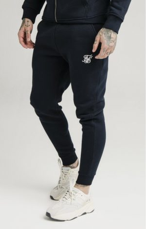 SikSilk Muscle Fit Jogger Navy