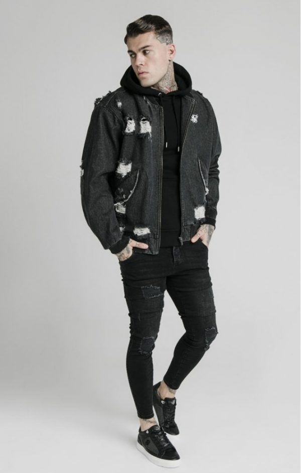 siksilk-distressed-denim-bomber-jacket-washed-black-p5239-50756_medium