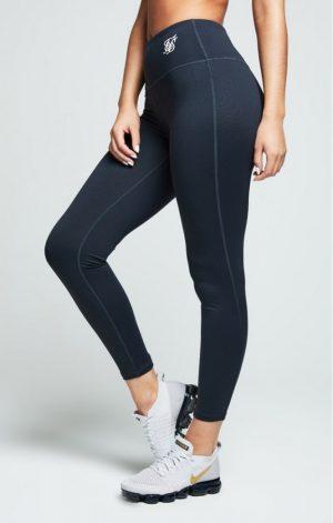 SikSilk Gym Leggings – Charcoal