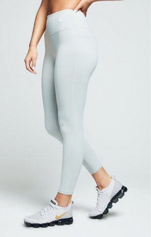 SikSilk Gym Leggings – Grey