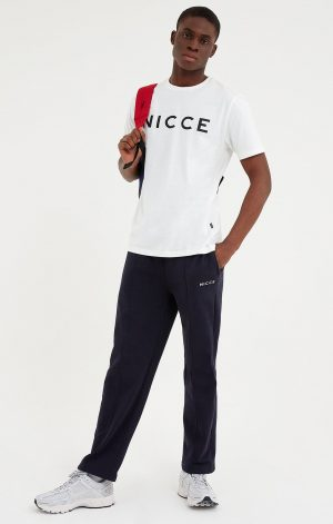 NICCE MENS ORIGINAL LOGO T-SHIRT | WHITE