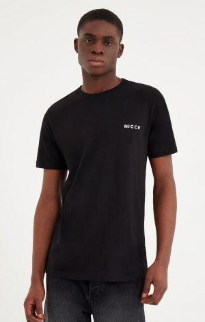 NICCE MENS ORIGINAL CHEST LOGO T-SHIRT | BLACK