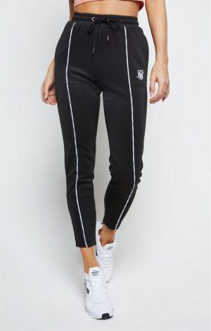 SikSilk  Duality Track Pants – Black