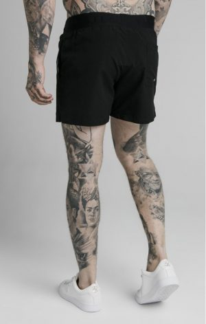 SikSilk Standard Swim Shorts – Black