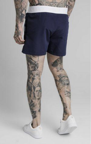 SikSilk Standard Swim Shorts – Navy