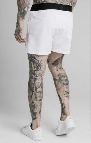 SikSilk Standard Swim Shorts – White