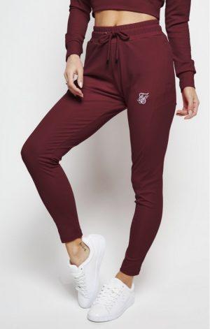 SikSilk Zonal Track Pants – Burgundy