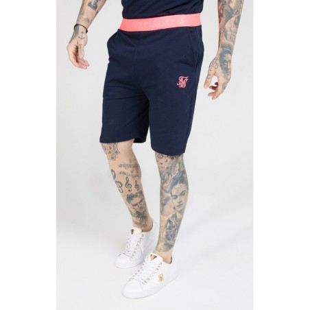 siksilk-relaxed-fit-shorts-navy-neon-pink-ss-16170