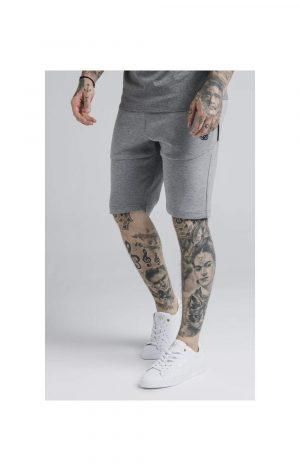 SikSilk Exhibit Function Shorts – Grey Marl