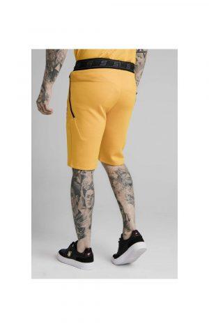 SikSilk Exhibit Function Shorts – Yellow