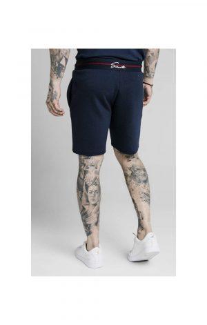 SikSilk Exposed Tape Shorts – Navy