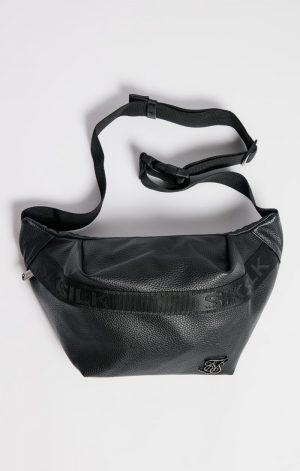 SikSilk Taped Pocket Bumbag – Black