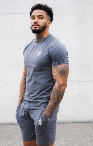 Gym King Origin T-Shirt – Dark Grey