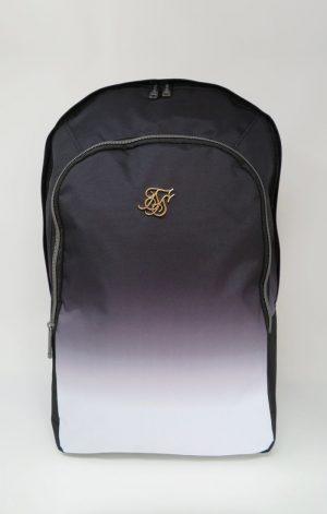 SikSilk Fade Backpack – Black & White