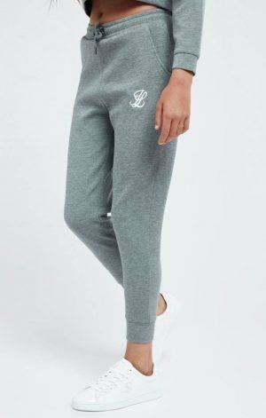 Illusive London Dual Track Pant – Grey Marl