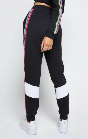 SikSilk Spectrum Fleece Joggers – Black