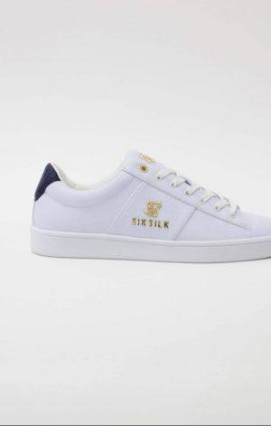 SikSilk Elite – White & Navy